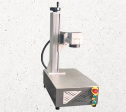 Óptica portátil 20W 30W marcadora láser de fibra con OEM ODM el logotipo de la impresión 3D de la máquina de impresión