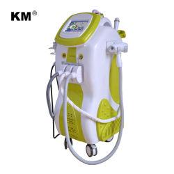 E-Licht IPL HF-Nd YAG Laser-Multifunktionsmaschine für Knicken-Abbau-Akne-Therapie
