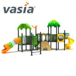 Vasia Wohnplastikplättchen-im Freienspielplatz-Spielwaren/verwendetes im Freienkind-Spiel/im Freienspielplatz-Gerät für Kinder