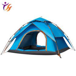 Commerce de gros de l'ouverture rapide automatique Outdoor porte double tente de camping