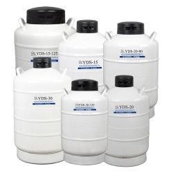 1L2l6l10L حاوية النيتروجين السائل إدارة التخزين سائل التبريد المفرط النيتروجين السائل عائل خزان سفينة التخزين