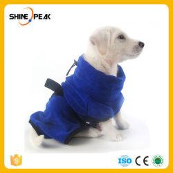 Xs-XL собака халат теплой одежды собак Super абсорбирующий Пэт сушки полотенец Пэт ванна душ полотенца Cat для ухода за собой ПЭТ
