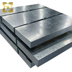 ASTM A36 A576 Spangle ordinaire galvanisé à chaud Gi plaque en acier recouvert de zinc
