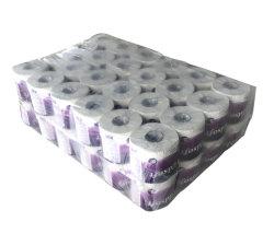 100% het Maagdelijke Weefsel van de Badkamers van het Toiletpapier van de Houtpulp 3ply