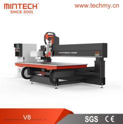 Máquina de corte de gravação de router CNC de elevada eficiência para acrílico/madeira/plástico/alumínio (V8)