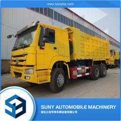 استخدمت Sinotruck شاحنة تفريغ HOWO 371HP لأفريقيا 6X4 أسعار شاحنات التفريغ HOWO