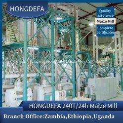 Super White Mais Mais Maismehl Körner Mahlen Herstellung Von Plant Mill Maschine