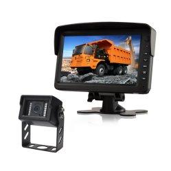 7 il video dell'affissione a cristalli liquidi dell'automobile TFT di pollice per il tassì, il camion ed il bus ha usato