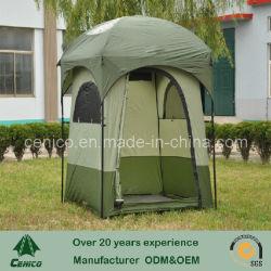 Piscina Camping Chuveiro tenda com tecido de PU