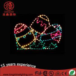 لونغشاين LED 2D التف ضوء عيد الفصح