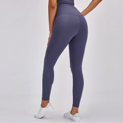 En stock Mesdames Femmes Polyester Yoga Active jambières collants