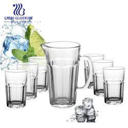 Conjunto de bebidas Old Fashion Barware de 125 ml com um copo em relevo de 7,5 ml Copo copo copo Whiskey copo 7 PÇS copo copo