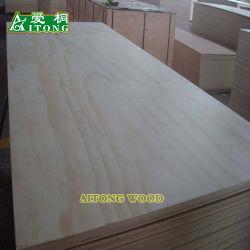 compensato commerciale del pino di 18*1220*2440mm per mobilia/decorazione