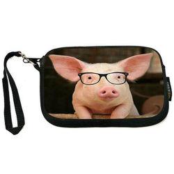 折りたたみ式買物袋、動物のブタ様式、再利用可能、軽量、食料雑貨袋