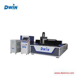Metal& Metaloide máquina de corte láser de fibra de doble uso con la potencia del láser 500~1500W Fuente de láser de CO2 opcional de EE.UU.