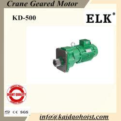 3.75kw motoréducteur de grue avec un tampon pour la fin de transport