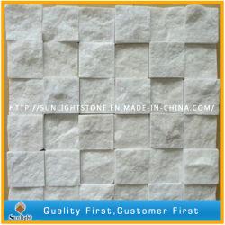 De natuurlijke Mozaïeken van de Steen van Carrara Witte Marmeren voor Huis, de Muur van het Hotel