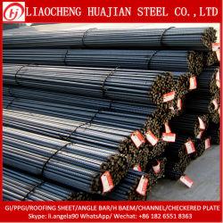 Haute résistance d'armature d'armature en acier pour la construction de la tige de fer Bar