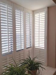 Commerce de gros de la fenêtre en PVC de haute qualité réglable Plantation volets