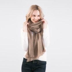 2019 Nouvelle arrivée 100% Mesdames conçu Alashan châle de cachemire