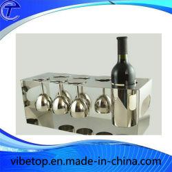 Accueil verres à vin décoratifs Coupe du titulaire de la pendaison de crémaillère