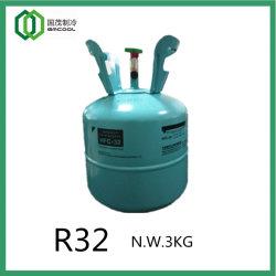 Gaz réfrigérant R32 avec DOT-39 Non-Refillable cylindre en acier