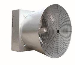 De industriële Ventilator van de Uitlaat van de Vlinder van de Ventilator van de Kegel FRP voor de AsVentilators van het Landbouwbedrijf van het Gevogelte en van de Serre
