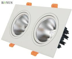 LED COB 스포트라이트 더블 트리플 플러그 샵은 5-45W 스팟을 사용했습니다 라이트 램프 천장 실내 조명 다운라이트