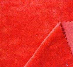 Tissu polyester Super douce en velours/court-tissu polaire en peluche de matériel pour un canapé, de la literie.