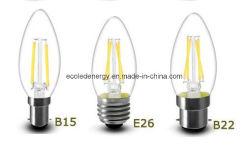 4W Ca17 필라멘트 LED 캔들 조명