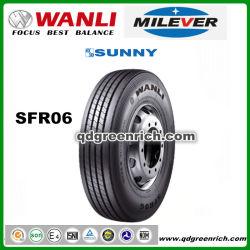 Wanli / Milever / солнечный радиальных шин трехколесного погрузчика 750r16 8r17.5 9r17.5 8r22,5 9r22,5 Sfr06 Semi погрузчика Tyer стали Llantas шин для успешных продаж шин