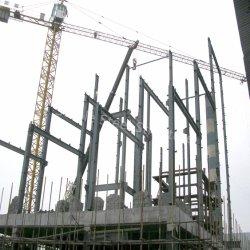 Сборные стальные конструкции зданий для использования химических веществ