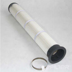 Мешок гофрированный фильтр картридж для пылевой фильтр / верхней части картриджа мешок гофрированный погрузчика