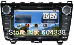 8 de pouce en voiture du tableau de bord de la radio de navigation GPS Android DVD stéréo pour 2008-2013 Mazda 6 Mazda6 Ultra
