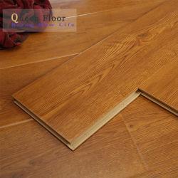 고품질 재질 클릭 라미네이트 목재 바닥 목재 라미네이트 바닥 홈 장식을 위해 중국에서 만들어진 타일 MDF