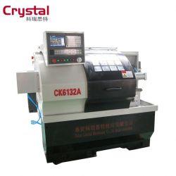 Torno CNC torneadora baratos ampliamente utilizado en el procesamiento y la fabricación del aparato eléctrico CK6132A