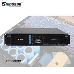 Sinbosen 4 Berufsaudioendverstärker des Kanal-Fp20000q DJ für 18 Zoll Subwoofer