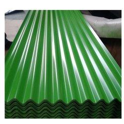 Гальванизированный Prepainted PPGI PPGL гофрированной стальной лист крыши плитки