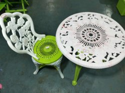 Injection de plastique de seconde main de style européen de table et chaise moule