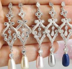 Collier de perles de mariée bijoux Set, Mariage Collier de perles Bijoux Set, demoiselle d'honneur des bijoux