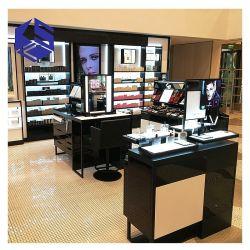 Attraktive Entwurfs-steht hölzerner kosmetischer System-Bildschirmanzeige-Einzelverkaufs-Schrank Dekoration-Möbel