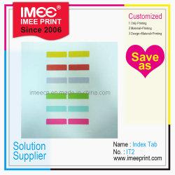 Una impresión personalizada impresión Imee ficha Index2