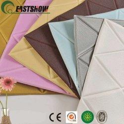 Bricolaje moderno 3D de ladrillo de pared de espuma de polietileno adhesivo para la decoración del hogar