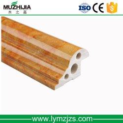 PVC pedra mármore Friso do teto para parede interior Tecto Decoração de perfil