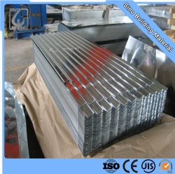Mayorista de fábrica del techo de zinc metal de hoja de impermeabilización de cubiertas de acero corrugado