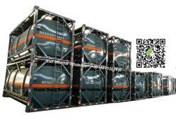 20FT ISO Recipiente do tanque de ácido clorídrico 21cbm (21000 litros revestidos com aço LLDPE) para o Vietname para Transporte de Reboque de ácido Fábrica Química