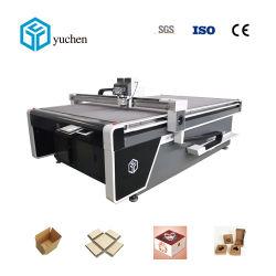 물결 모양 벌집 판지, 판지, 판매를 위한 포장 절단기 도형기를 만드는 회색 카드를 위한 최고 가격 CNC 상자 절단기
