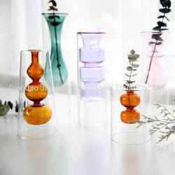 Nuevo diseño Jarrón de vidrio moderna la decoración del hogar