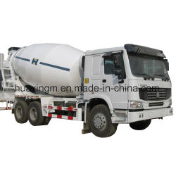 10cbm de Concrete Mixer van de Doorgang met Chassis HOWO/Dongfeng