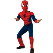 Enfant Spiderman costume de super-héros de la poitrine du muscle de luxe